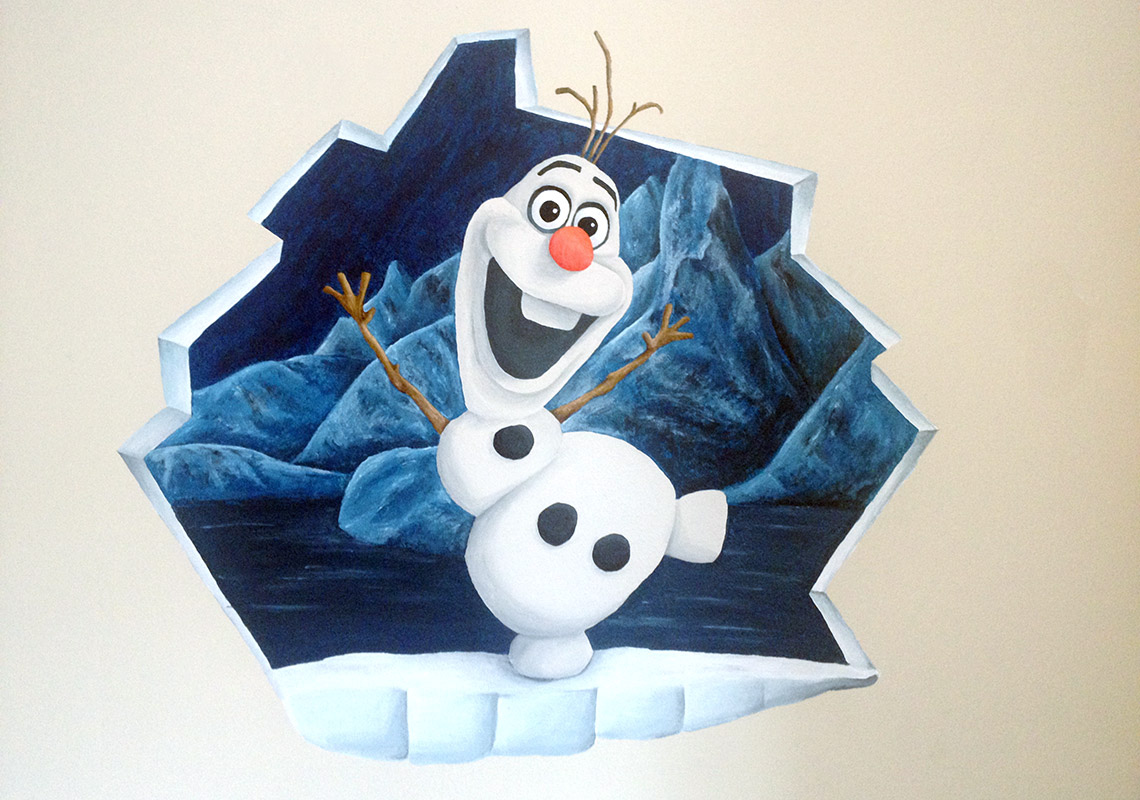 Frozen Slaapkamer Maken : Frozen Olaf Ring