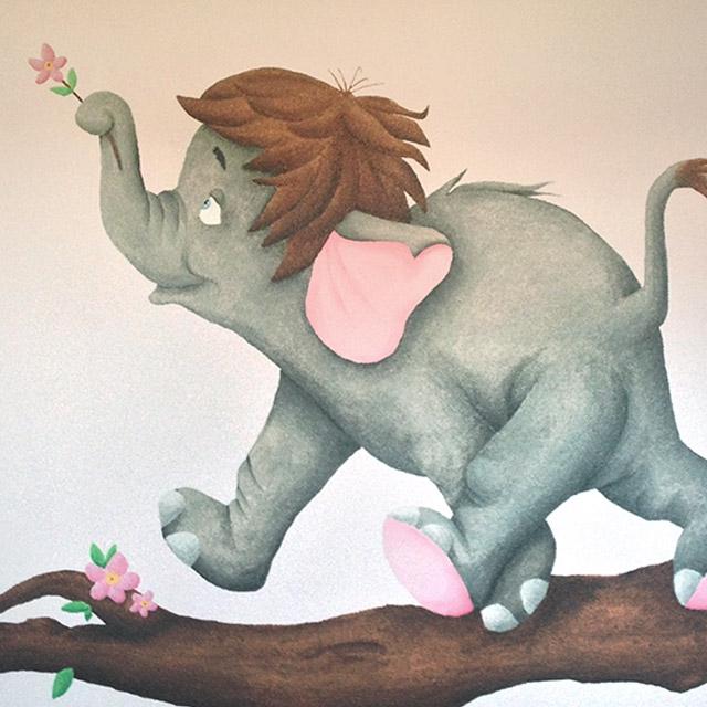 Muurschilderingen in Limburg voor babykamers en kinderkamers - Little ...