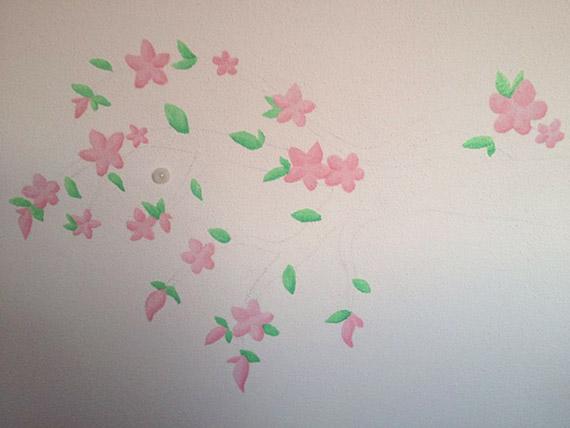 Picture idea 1 : Babykamer donkere muur het eindresultaat van de ...
